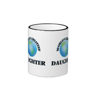 World's Greatest Daughter Mugs