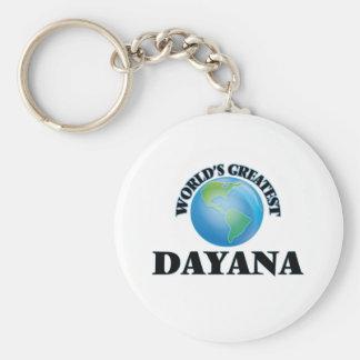 World's Greatest Dayana Keychain