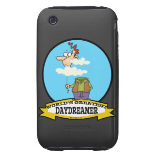 WORLDS GREATEST DAYDREAMER CARTOON TOUGH iPhone 3 COVERS