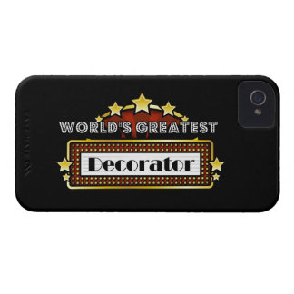 World's Greatest Decorator Case-Mate iPhone 4 Cases