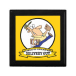 WORLDS GREATEST DELIVERY GUY MEN CARTOON GIFT BOXES