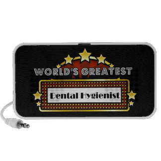 World's Greatest Dental Hygienist Notebook Speakers