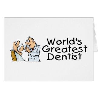 Worlds Greatest Dentist Cards