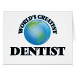 World's Greatest Dentist Cards