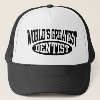 World's Greatest Dentist Hat