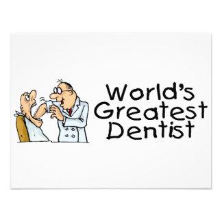 Worlds Greatest Dentist Invitation
