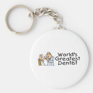Worlds Greatest Dentist Key Chains