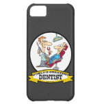 WORLDS GREATEST DENTIST MEN CARTOON iPhone 5C COVER