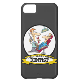 WORLDS GREATEST DENTIST MEN CARTOON COVER FOR iPhone 5C