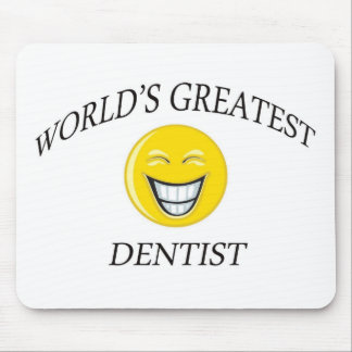 WORLD'S GREATEST DENTIST MOUSE PAD