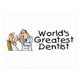 Worlds Greatest Dentist Post Card