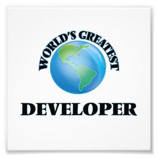 World's Greatest Developer Photo Print