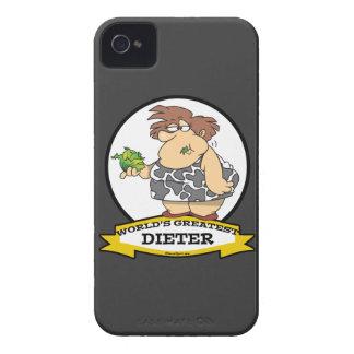 WORLDS GREATEST DIETER CARTOON Case-Mate iPhone 4 CASE