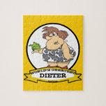 WORLDS GREATEST DIETER CARTOON JIGSAW PUZZLE