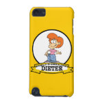 WORLDS GREATEST DIETER FEMALE II CARTOON iPod TOUCH 5G CASES