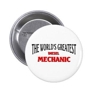 World's Greatest Disel Mechanic Button