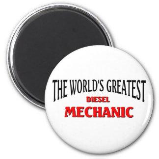 World's Greatest Disel Mechanic Magnets