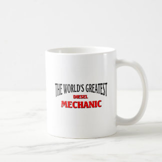 World's Greatest Disel Mechanic Classic White Coffee Mug