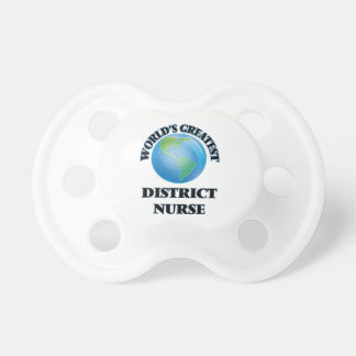 World's Greatest District Nurse Pacifier