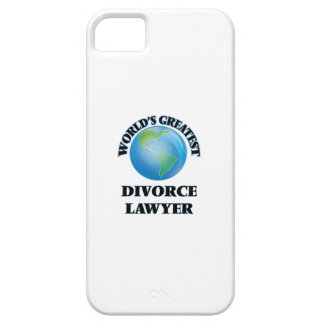 World's Greatest Divorce Lawyer iPhone 5 Cases