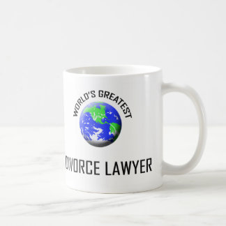 World's Greatest Divorce Lawyer Coffee Mug