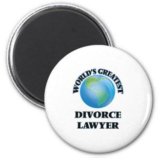 World's Greatest Divorce Lawyer Magnet