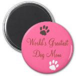 World's Greatest Dog Mom Magnet