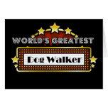 World's Greatest Dog Walker Greeting Card
