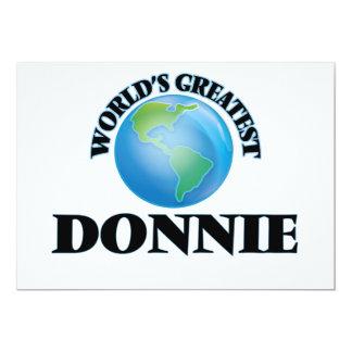 World's Greatest Donnie Card