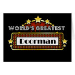 World's Greatest Doorman Greeting Cards