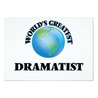 World's Greatest Dramatist Announcements