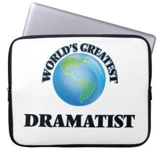World's Greatest Dramatist Laptop Computer Sleeves
