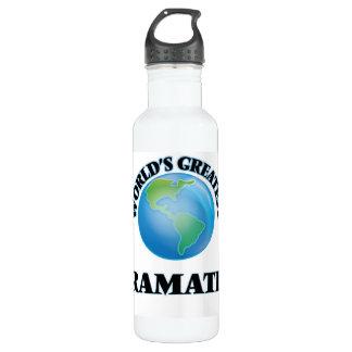 World's Greatest Dramatist 24oz Water Bottle