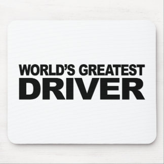 World's Greatest Driver Mouse Pads