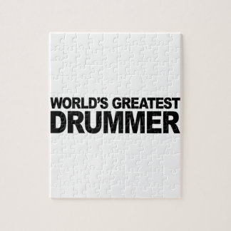 World's Greatest Drummer Jigsaw Puzzle