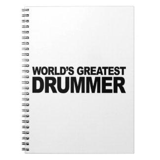 World's Greatest Drummer Notebook