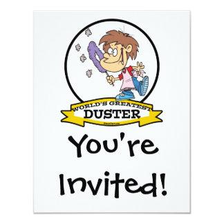 WORLDS GREATEST DUSTER KID CARTOON CARD