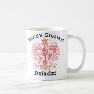 World's Greatest Dziadzi Eagle Coffee Mug
