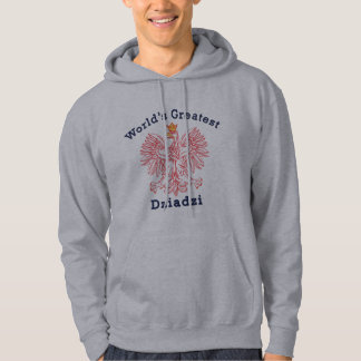 World's Greatest Dziadzi Eagle Hoodie