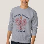 World's Greatest Dziadzi Eagle Sweatshirt