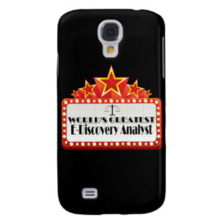 World's Greatest E-Discovery Analyst Samsung Galaxy S4 Case