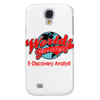 World's Greatest E-Discovery Analyst Galaxy S4 Case