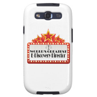 World's Greatest E-Discovery Director Samsung Galaxy SIII Covers