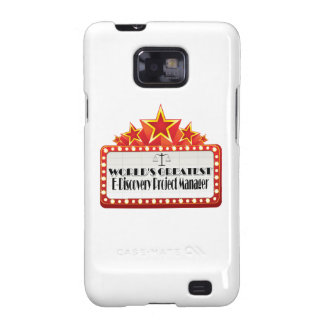World's Greatest E-Discovery Project Manager Samsung Galaxy Case