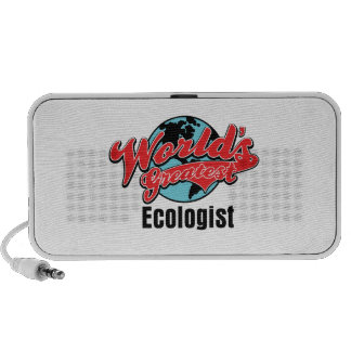 Worlds Greatest Ecologist Notebook Speakers
