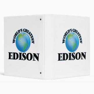World's Greatest Edison Binders