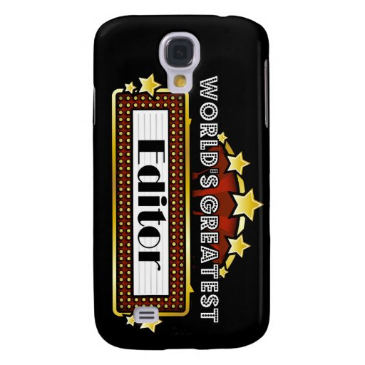 World's Greatest Editor Samsung Galaxy S4 Cover