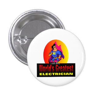 World's Greatest Electrician Pins