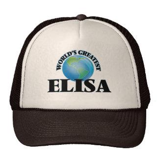 World's Greatest Elisa Hat