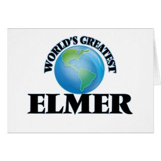 World's Greatest Elmer Stationery Note Card